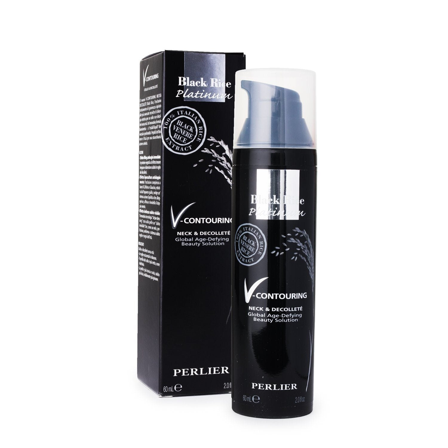 Black Rice Platinum V-Contouring Neck & Decollete Serum 2.0 fl oz