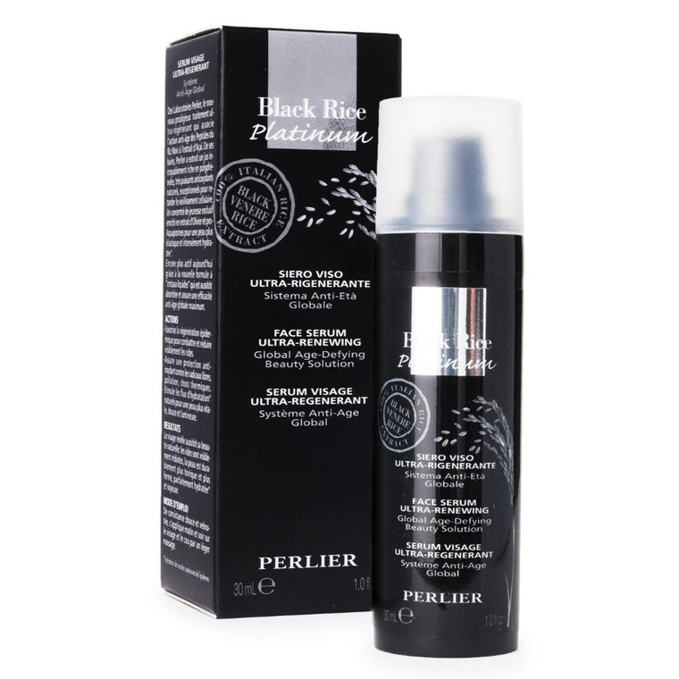 Black Rice Platinum Face Ultra Renewing Serum 1.0 fl oz