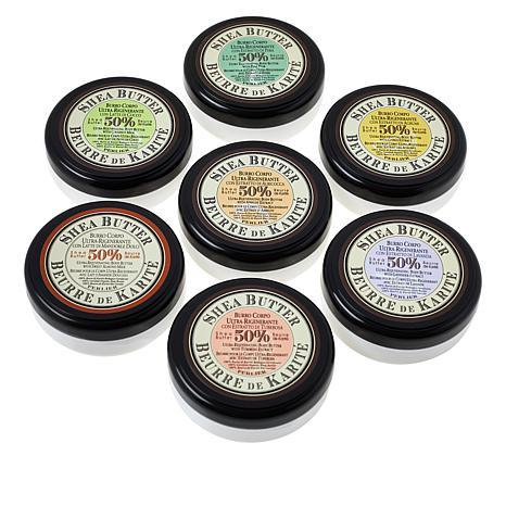 7 PIECE SHEA BUTTER BODY BALM SET