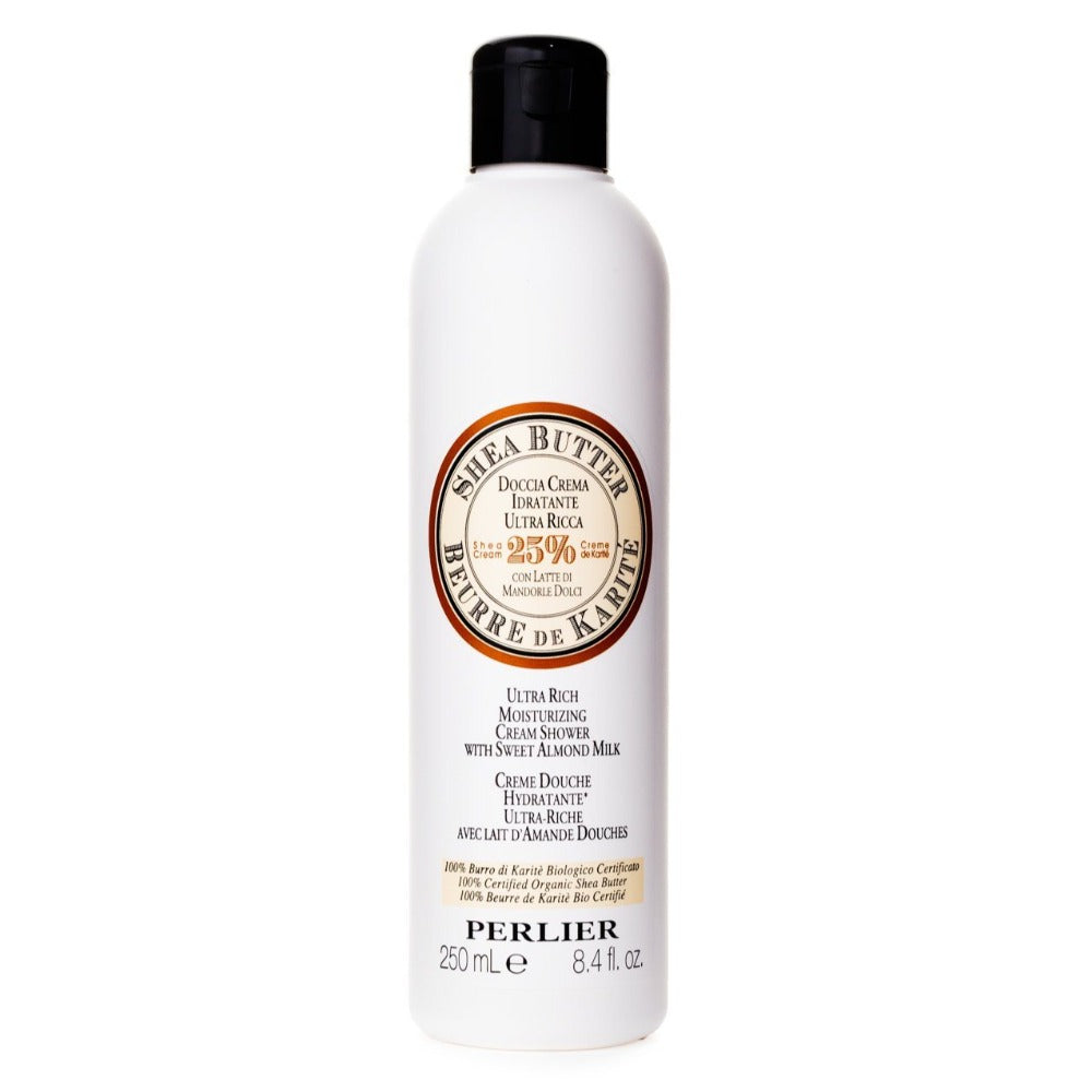 Perlier's Shea Butter with Sweet Almond Bath & Shower Cream