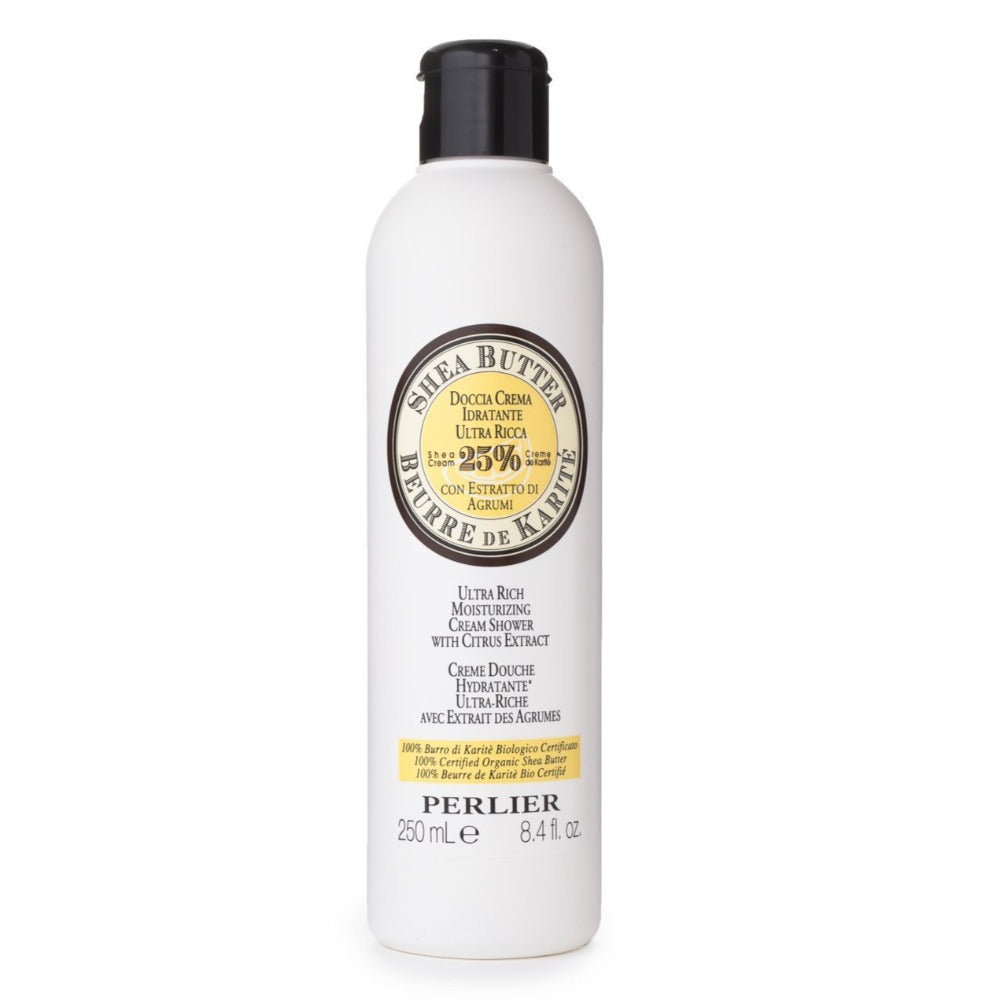 Perlier's Shea Butter with Citrus Bath & Shower Cream