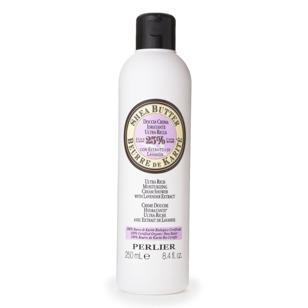 Perlier's Shea Butter with Lavender Bath & Shower Cream
