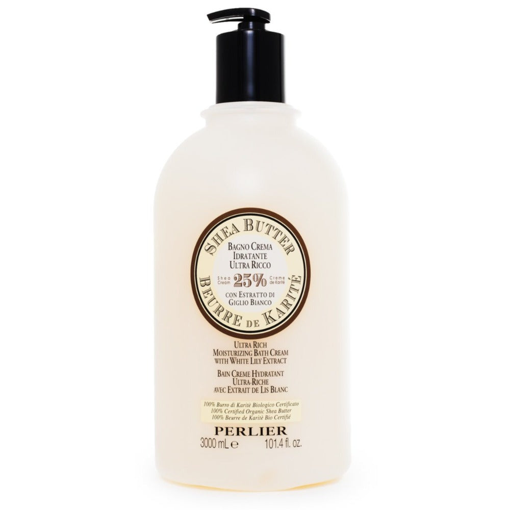 Shea Butter with White Lily Bath & Shower Cream 101.4 fl oz