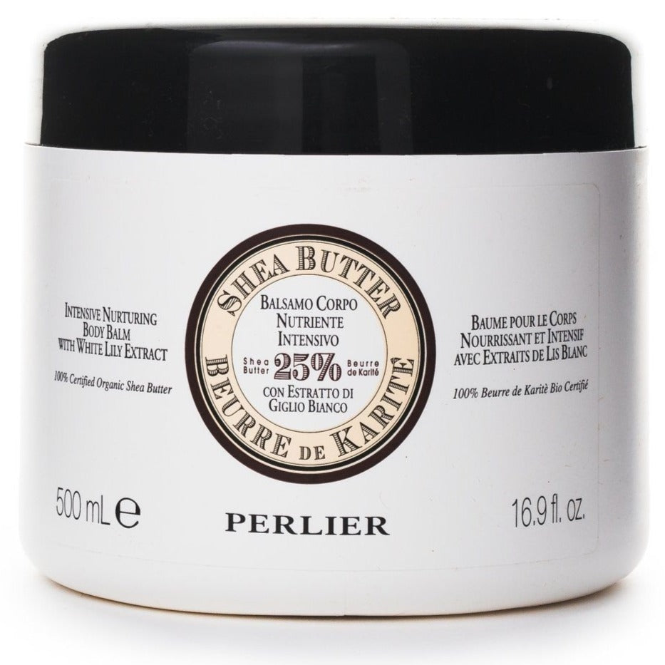 Shea Butter with White Lily Extract Body Balm 16.9 oz