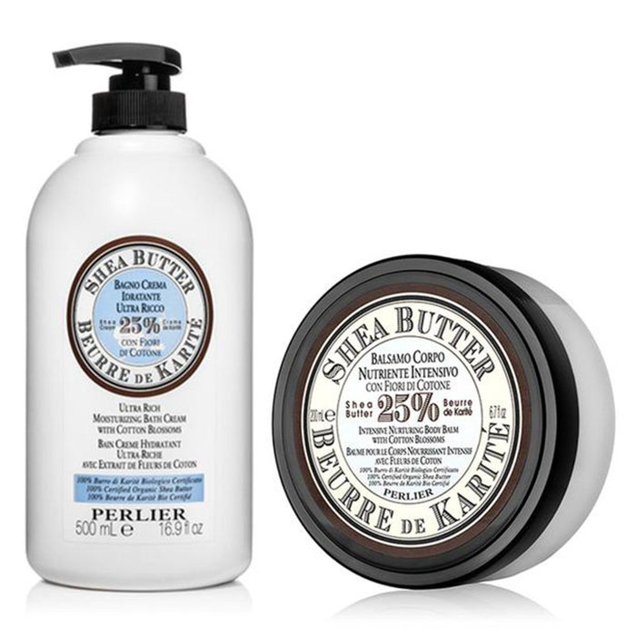 Shea Butter with Cotton Blossom Bath & Body Duo