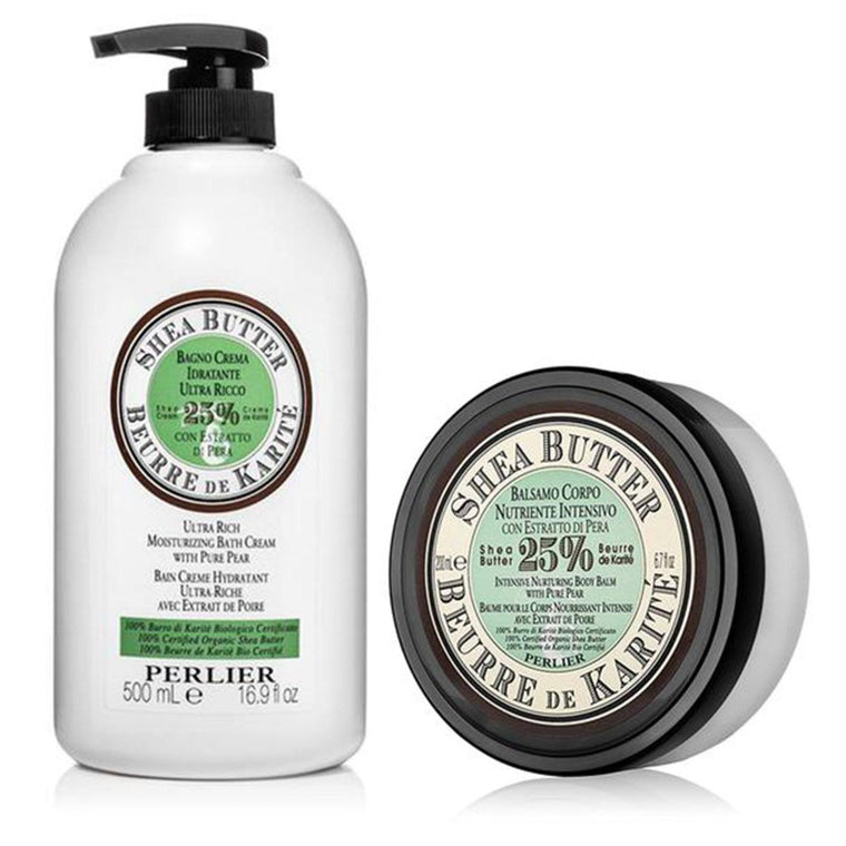 Shea Butter with Pure Pear Bath Cream & Body Butter (2pc Kit)