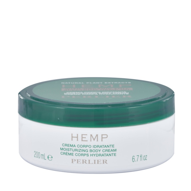 PERLIER'S HEMP OIL MOISTURIZING BODY CREAM