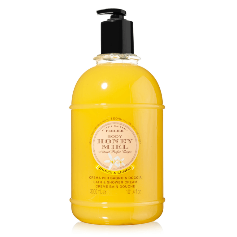 PERLIER'S HONEY + LEMON BATH & SHOWER CREAM