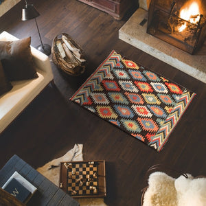 Plotzed Multicolors Modern kilim Rugs