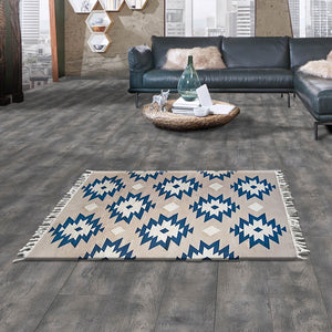 Tribe Blue Handknotted Kilim Rugs