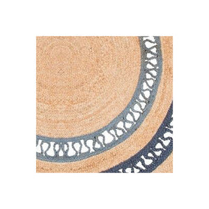 Cante Grey Braided Jute Rugs