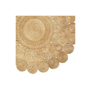 Grizzly Hand Made Natural Jute Rugs