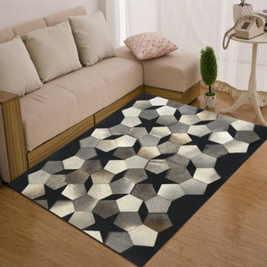 Artigo Grey Hairon Leather Carpet