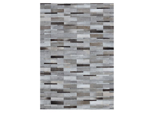 Kian Grey Hairon Leather Carpet