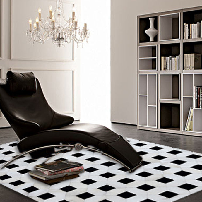 Hairon Leather Rug