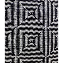 Neuro Black & White Wool Rugs