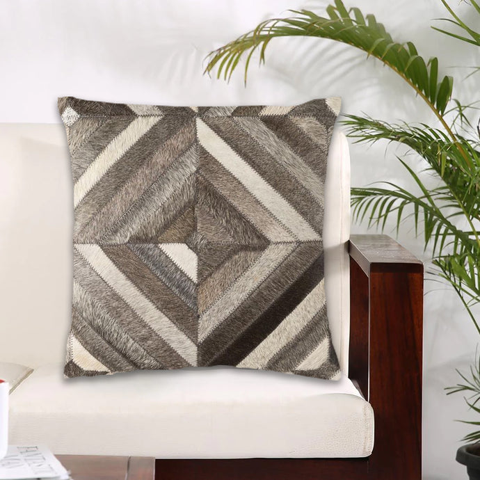 Brizo Hair On Leather Modern Cushion Covers