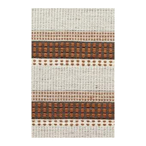 Zoonic Brown Kilim area rugs