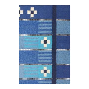 Quilch Blue handwoven Kilims Carpet