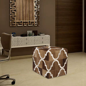 Eze Brown Living Room Ottoman