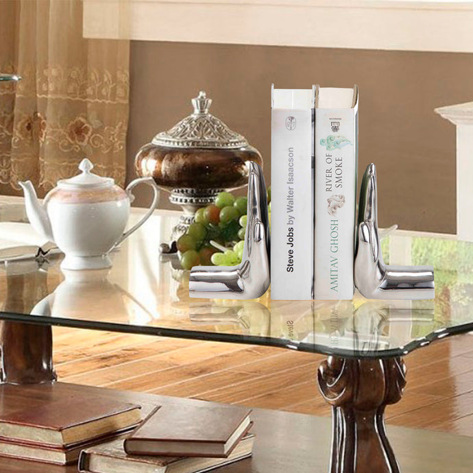 Silver Bookends Online