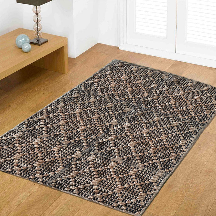 Emoltra Grey  Flatweave Carpet