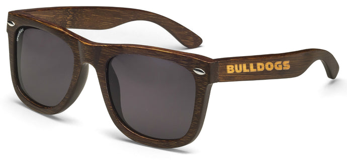 Georgia Bulldogs Ventura Bamboo Sunglasses