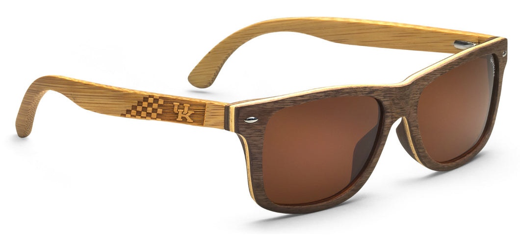 Kentucky Wildcats Rio Wood Sunglasses