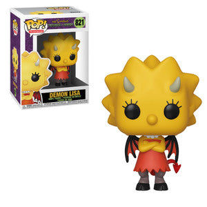 POP Animation: Simpsons S3 - Demon Lisa