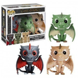 Pop! Game of Thrones -Drogon, Rhaegal & Viserion