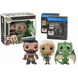 Pop! Game of Thrones -Khal, Khaleesi & Rhaegal