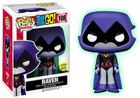 Pop Television: Teen Titans - Purple Raven Glow in the Dark Collectible Figure, Multicolor
