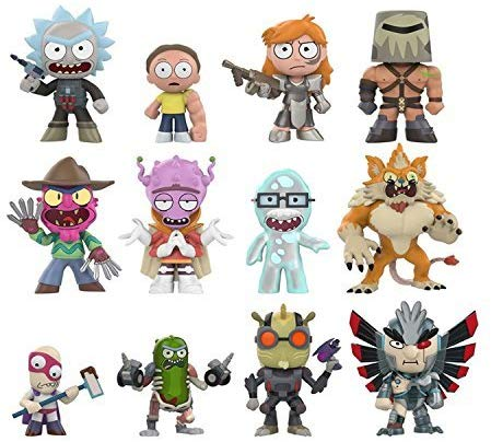 Funko Mystery Mini: Rick and Morty (one Figure) Collectible Figure, Multicolor