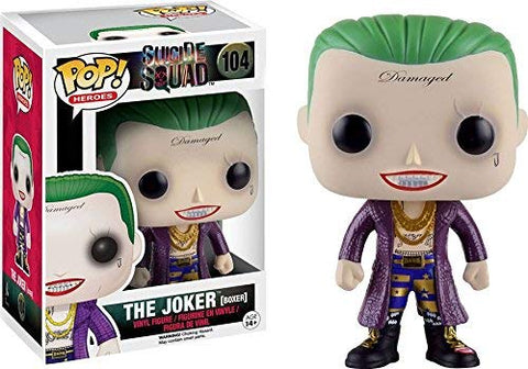 Pop! DC Heroes #104 Suicide Squad The Joker {Boxer} (Target Exclusive)