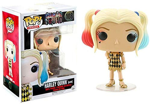 POP! Suicide Squad Harley Quinn Gown Exclusive Heroes #108