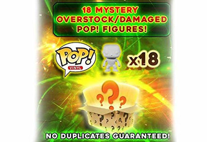 Pop Mystery Box: Damaged/Overstock Vinyl Figures 18-Pack
