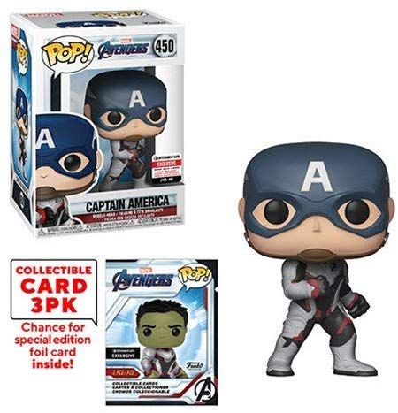Pop! Marvel Avengers Captain America (Endgame) with Collective Card EE Exclusive