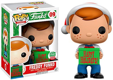 Pop! Vinyl Santa Freddy Funko #09 (Funko Shop Exclusive)