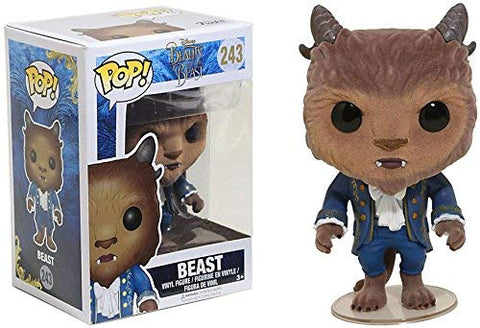 Pop! Disney: Beauty and The Beast- Flocked Beast