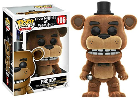 Pop! FNAF Flocked Freddy Exclusive Vinyl Figure