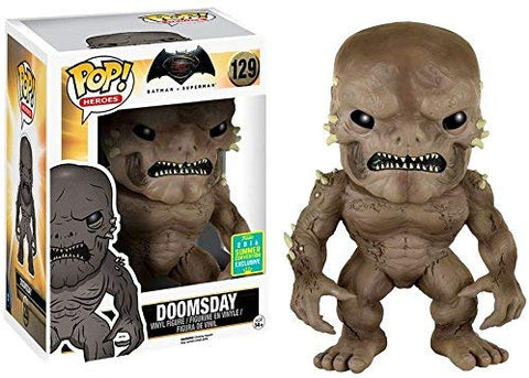 "Pop Heroes Batman vs. Superman Doomsday 6"" Figure Summer Convention Exclusive #129"