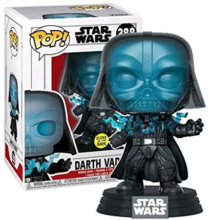 Pop! Star Wars: Return of The Jedi - Glow in The Dark Electrocuted Vader (Exclusive)