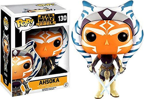 Pop Star Wars Rebels Ahsoka Tano Exclusive Vinyl Bobblehead Figure