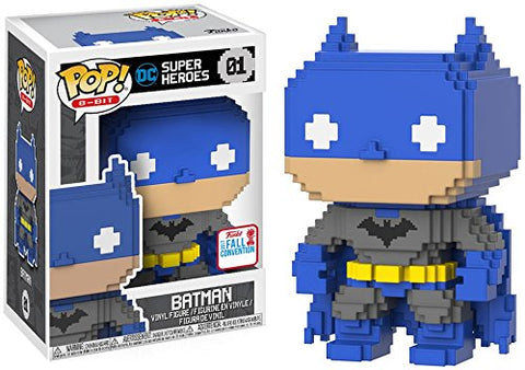 Pop Funko 8-Bit #01 DC Heroes Batman (2017 Fall Convention Exclusive)