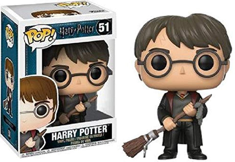 Pop Harry Potter with Firebolt Collectible Figure, Multicolor
