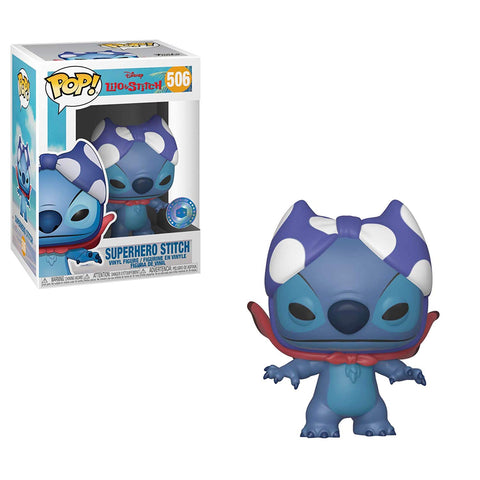POP Disney: Lilo & Stitch - Superhero Stitch Vinyl Figure