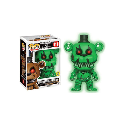Pop! Games FNAF Nightmare Freddy GITD Walmart Exclusive