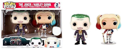Pop! Suicide Squad FYE Exclusive 2pk Joker and Harley Quinn