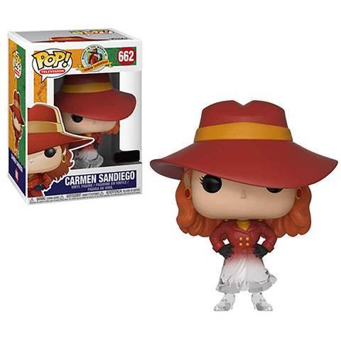 Pop! Where in The World is Carmen Sandiego - Fading Translucent Carmen