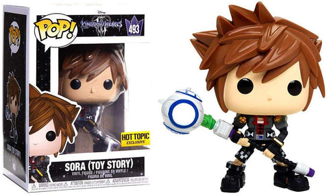 POP! Disney Kingdom Hearts III Vinyl Figure Sora (Toy Story) #493 Hot Topic Exclusive